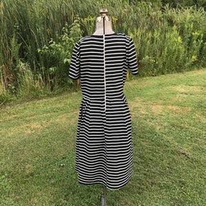 LuLaRoe Dresses - FLASH SALE: LuLaRoe Black & White Amelia Dress